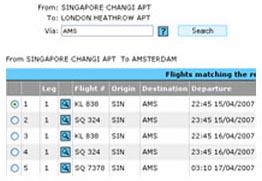 OAG Cargo Flights (Web-based)