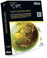OAG Flight Guide Worldwide (1 year, 12 issues)