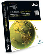 OAG Flight Guide N.A. (1 Year, 12 Issues)