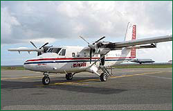 Winair's Twin Otter 19-seat aircraft